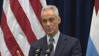 """""""No one thing is going to solve the problem across four funds,"""" Mayor Rahm Emanuel said of Chicago's pension crisis on Wednesday, Dec. 12, 2018."""