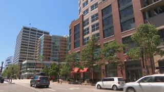 Downtown Evanston (WTTW News)