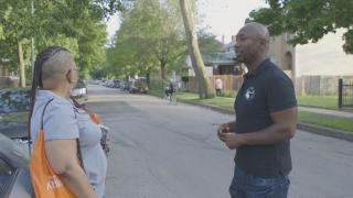 "A scene from the new WTTW digital series ""Firsthand: Gun Violence."" (WTTW)"