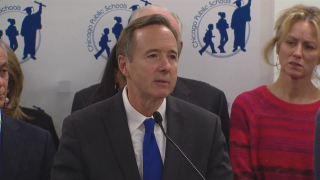"""""""We've made much progress, though there is much more work to be done,"""" Forrest Claypool said during his resignation announcement Friday."""