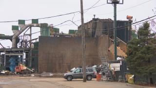 General Iron's metal-shredding operation in Lincoln Park. (WTTW News)