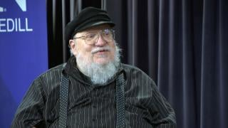 """""""Game of Thrones"""" author George RR Martin appears on """"Chicago Tonight"""" on Wednesday, June 16, 2021. (WTTW News)"""