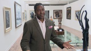 Chicago artist Gerald Griffin, owner of Gerald Griffin Gallery. (WTTW News)