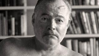 """A still image of Ernest Hemingway from the new Ken Burns and Lynn Novick PBS documentary """"Hemingway."""" (Courtesy of PBS)"""