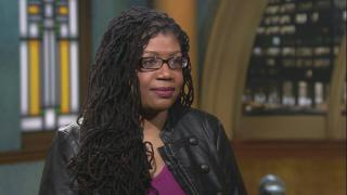 "Author Mikki Kendall appears on ""Chicago Tonight"" on Feb. 24, 2020. (WTTW News)"