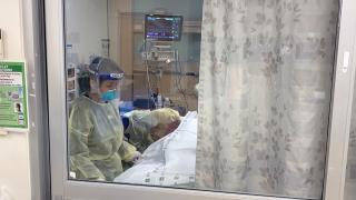 Hospitals in southern Illinois are facing a critical shortage of available ICU beds. (WTTW News)