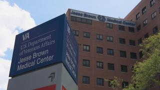 The Jesse Brown VA Medical Center in Chicago. (WTTW News)