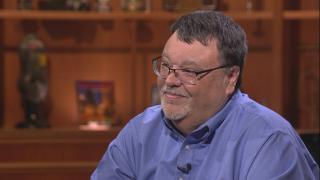 "Journalist Jim DeRogatis appears on ""Chicago Tonight"" on Wednesday, June 12, 2019."