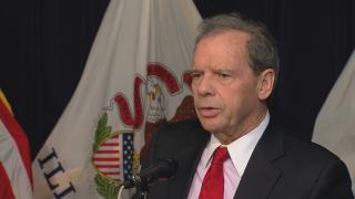 In this June 2016 file photo, Illinois Senate President John Cullerton talks about plans for a temporary state budget. (WTTW News)