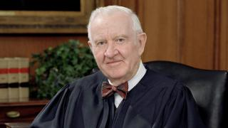John Paul Stevens, U.S. Supreme Court justice. (Collection of the Supreme Court of the United States, Photographer: Steve Petteway)