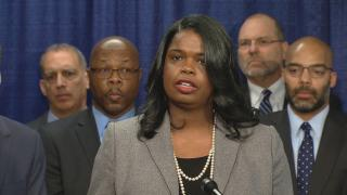 A file photo shows Cook County State's Attorney Kim Foxx. (WTTW News)
