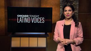 "Araceli Gómez-Aldana hosts ""Chicago Tonight: Latino Voices"" (WTTW News)"