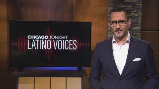 """Alex Hernández of Univision guest hosts the 42nd episode of """"Latino Voices."""""""