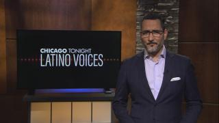 """Alex Hernández of Univision guest hosts the 47th episode of """"Latino Voices."""" (WTTW News)"""
