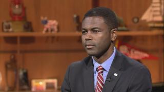 """State Rep. La Shawn Ford appears on """"Chicago Tonight"""" on Nov. 12, 2018."""