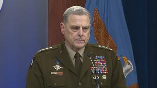 On Wednesday, Chairman of the Joint Chiefs Mark Milley echoed President Biden's comments that the administration didn't think the Taliban takeover would happen so fast. (WTTW News via CNN )