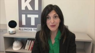 "Maryam Saleh speaks with ""Chicago Tonight"" via Zoom on Monday, Sept. 21, 2020. (WTTW News)"
