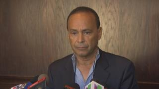 U.S. Rep. Luis Gutierrez announces Wednesday, Sept. 12, 2018 that he will not run for Chicago mayor. (Chicago Tonight)
