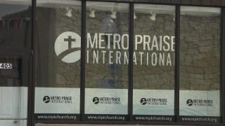 The Metro Praise International Church in Chicago's Belmont Cragin neighborhood. (WTTW News)