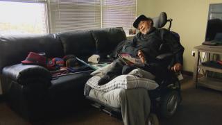 Disability activist Michael Grice (WTTW News)