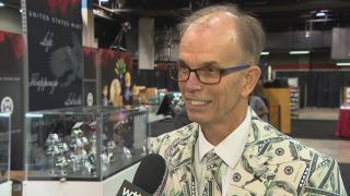 U.S. Bureau of Engraving and Printing Director Len Olijar speaks with WTTW News.