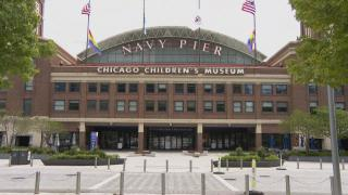 Navy Pier on the eve of its June 10 reopening. (WTTW News)