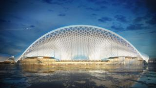 The O'Hare expansion proposal by London-based Foster Epstein Moreno Joint Venture (Chicago Department of Aviation)
