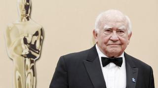 In this March 7, 2010, file photo, actor Ed Asner arrives during the 82nd Academy Awards in the Hollywood section of Los Angeles. (AP Photo / Matt Sayles, File)