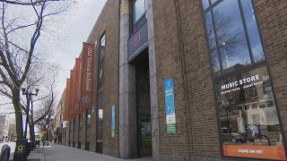 The Old Town School of Folk Music on Lincoln Avenue. (WTTW News)