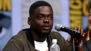 """Get Out"" actor Daniel Kaluuya speaks at the 2017 San Diego Comic Con International. (Gage Skidmore / Flickr)"