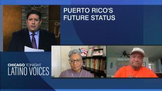 Marilia Gutierrez and Edilberto Cheverez join WBEZ's Michael Puente to discuss Puerto Rico's future status. (WTTW News)