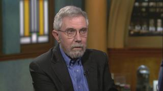 "Paul Krugman appears on ""Chicago Tonight"" on Tuesday, Feb. 25, 2020. (WTTW News)"