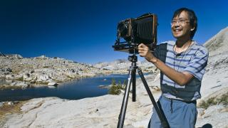 Photographer QT Luong at Kings Canyon National Park in California. (Courtesy QT Luong)