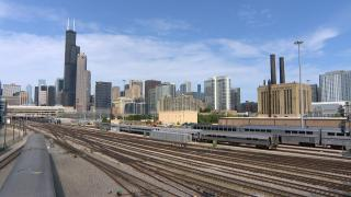 A new High Speed Rail Commision is also charged with integrating current rail service from Metra and Amtrak. (WTTW News)