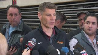 """""""It's all about Michigan. It's all about what we have to do to stop them, and what we have to do to score,"""" Loyola men's basketball coach Porter Moser said Tuesday."""