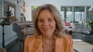 """Renee Fleming appears on """"Chicago Tonight"""" via Zoom on Tuesday, Sept. 8, 2020. (WTTW News)"""