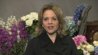 "Renée Fleming speaks with WTTW News about ""The Light in the Piazza."" (WTTW News)"