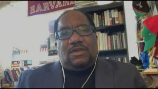 "The Rev. Marshall Hatch joins ""Chicago Tonight"" via Zoom for a conversation on Monday, April 13, 2020. (WTTW News)"