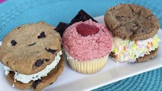 Scoops Dessert Bar will serve vegan and gluten-free boozy milkshakes, ice cream sandwiches, muffins and mini-doughnuts. (Credit: Brittany Gumbiner)