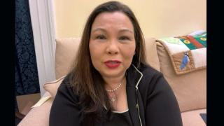 "U.S. Sen. Tammy Duckworth speaks with ""Chicago Tonight"" via Zoom on Thursday, April 29, 2021. (WTTW News)"