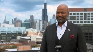 "Rashod Johnson gives us the last word on ""Chicago Tonight: Black Voices."" (WTTW News)"