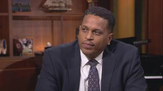 "Troy LaRaviere appears on ""Chicago Tonight"" on Oct. 1, 2019."