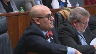 Illinois state legislators, including Rep. Jonathan Carroll, heard from parents, advocates and education leaders Tuesday during a public hearing about the use of isolation and seclusion rooms across the state. (WTTW News)