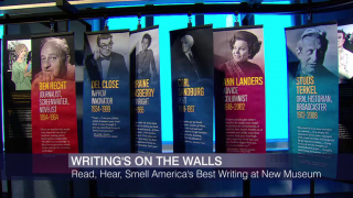 More Than Words: American Writers Museum Opens This Week
