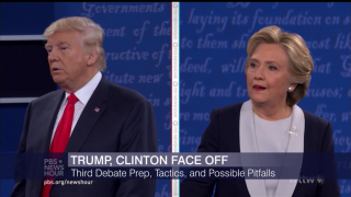 Trump, Clinton Face Off: Debate Prep, Tactics and More