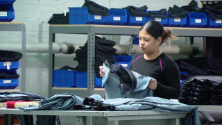 West Side Factory Aims to Beat Pants Off Apparel Industry