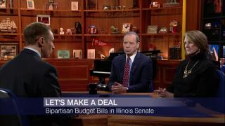 Cullerton, Radogno Discuss Budget 'Grand Bargain'
