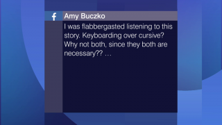 Viewer Feedback: 'Keyboarding Over Cursive? Why Not Both?'
