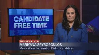 Candidate Free Time: Mariyana Spyropoulos