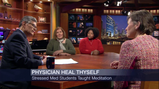 Loyola Offers Medical Students Meditation to Combat Stress